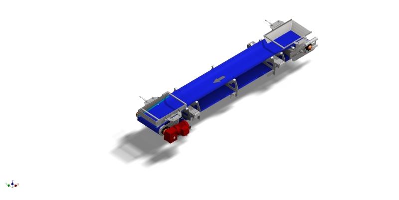 convoyeur structure tube