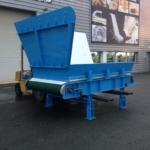 convoyeur de tri et de recyclage